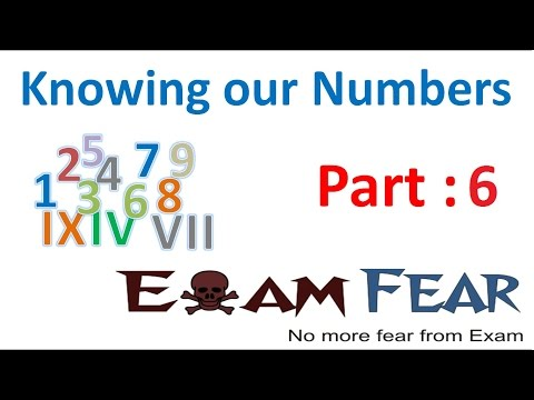 Maths Knowing Our Numbers part 6 (Larger Numbers: Indian System) CBSE Class 6 Mathematics VI