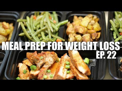 Meal Prep For Weight Loss | BBQ Pork Chops In The Oven