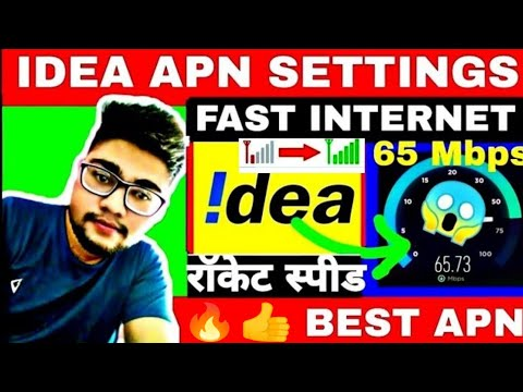 Idea Apn Settings For Android 4g Idea Fast Net Speed How To Increase Idea 4g Internet Speed NEW 2020