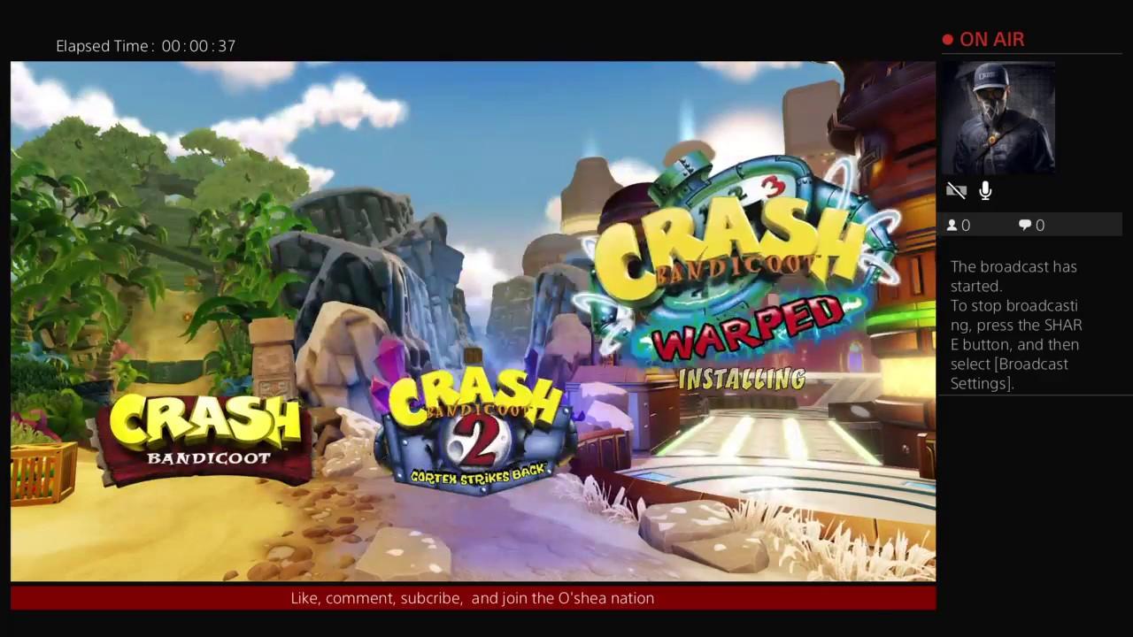 Crash Bandicoot Christmas.Crash Bandicoot Christmas Stream Youtube