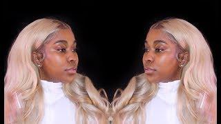 How I Apply Mỳ Blonde Wig | Black Girls Can't Wear Blonde ?