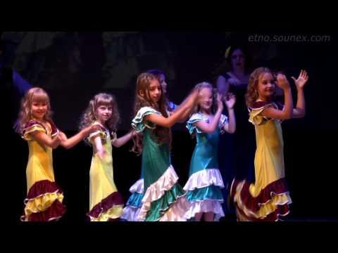 Ukraine Ethno Dance Festival Живая вода Фламенко танец Чернигов 2016