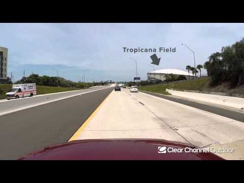 Billboard Video Ride: Digital Bulletin #51: I-175 and 12th St. E