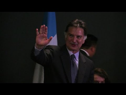 Guatemala's ex-president home from US jail