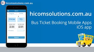 Bus Ticket Booking ios app source code for sale