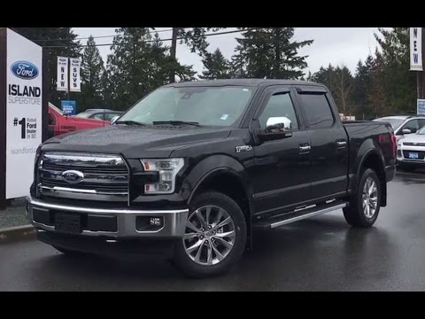 2017 Ford F 150 Lariat >> 2017 Ford F 150 Lariat Overview Youtube