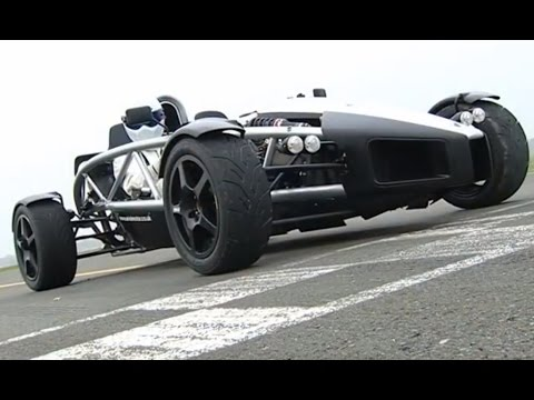Ariel Atom Power Lap - The Stig - Top Gear - BBC