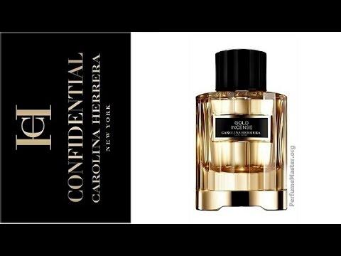 Carolina Herrera Confidential Gold Incense Fragrance Youtube