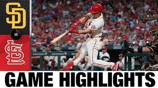 Padres vs. Cardinals Game Highlights (9/18/21) | MLB Highlights