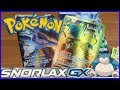 Pokemon Snorlax GX Unboxing