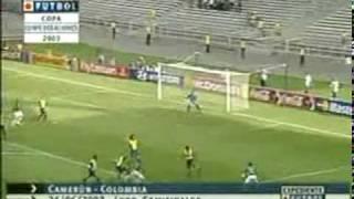 CAMERUN VS COLOBIA CONFEDERACIONES 2003, MUERTE DE MARC VIVIEN FOE