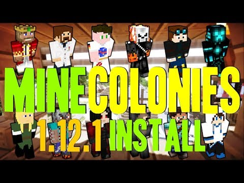 MINECOLONIES MOD 1.12.1 minecraft - how to download and install minecolonies 1.12.1 (with forge)