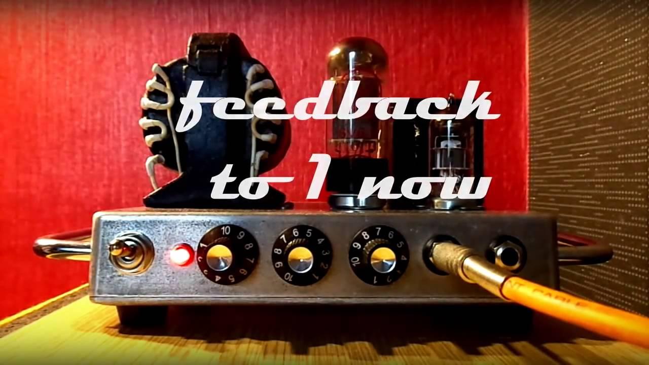 Diy Tube Guitar Amp Fender Champ 5f1