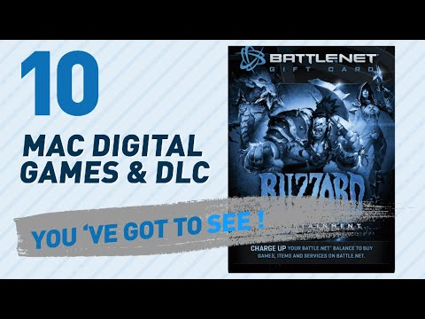 Top 10 Mac Digital Games & Dlc Collection // Video Games 2017