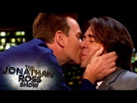 Ewan McGregor kisses Jonathan Ross - The Jonathan Ross Show