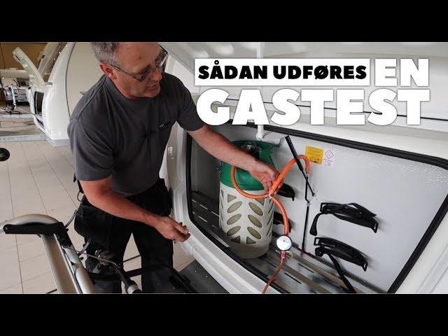 Sådan udføres en gastest (Fuld version)