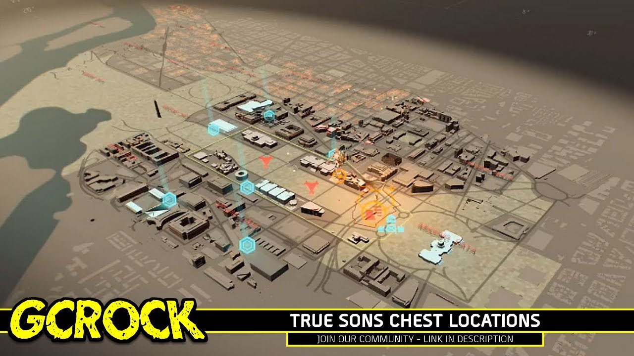 True Sons Chest Locations Guide | The Division 2