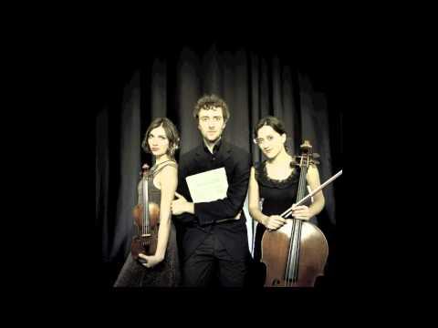 Trio Korngold plays Ravel Piano Trio in a minor: I. Modéré