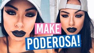 MAKE PODEROSA - TUMBLR! - Por Nathália Nogueira