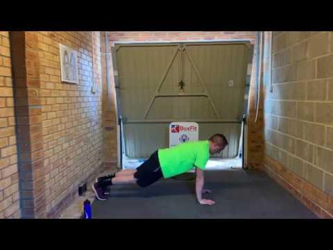 The Big Fitness Pledge Bodyweight Workout 1 (25 mins)