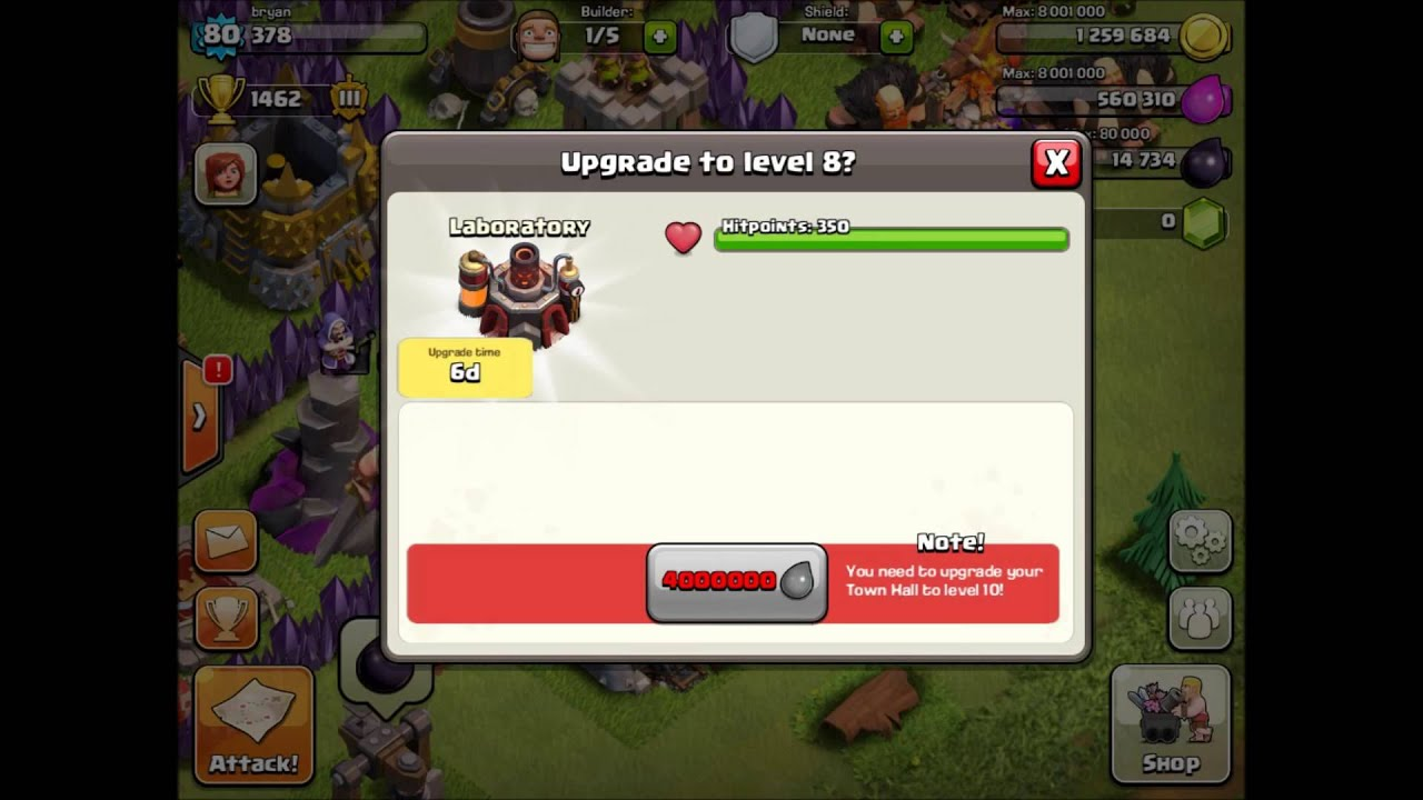 wall level advanced wall breaker guide clash of clans land castle
