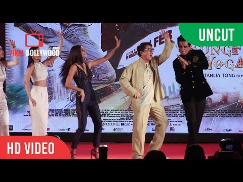 Kung Fu Yoga Movie Full Promotions Event | Jackie Chan, Sonu Sood, Disha Patani, Amyra Dastur