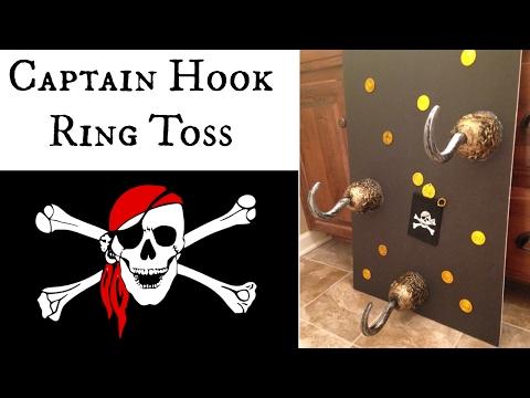 $5 DIY Captain Hook ⚓️ Ring Toss 🎯