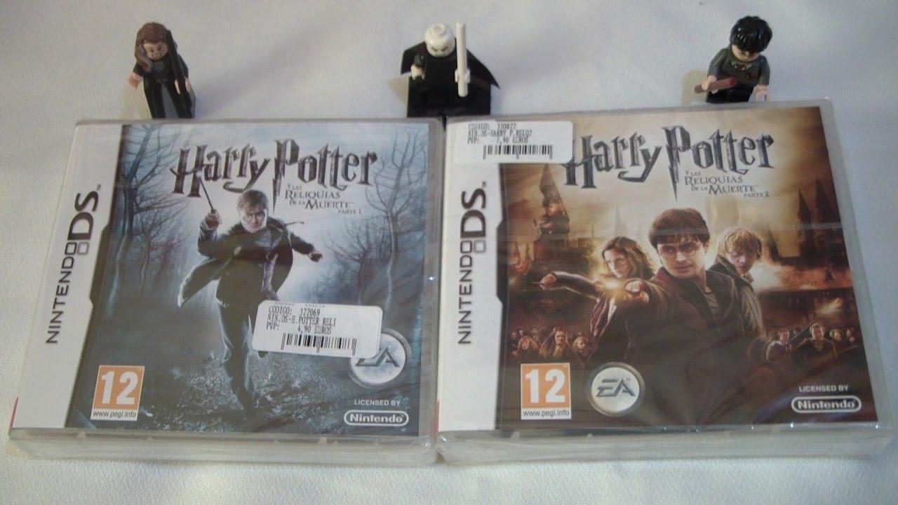 Harry Potter Y Las Reliquias De La Muerte Partes 1 Y 2 Nintendo Ds