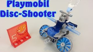 playmobil frosty mit disc shooter 6832 auspacken seratus1 unboxing neuheit
