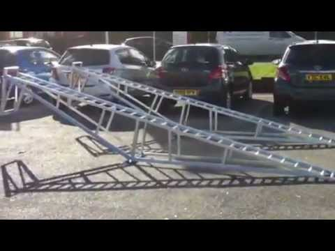 Show Room Car Ramps Supplied To Toyota Showroom YouTube - Car show ramps