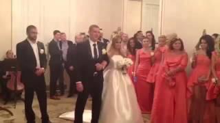 Свадьба Ксении Бородиной и Курбана Омарова  ВИДЕО ИЗ ЗАГСА