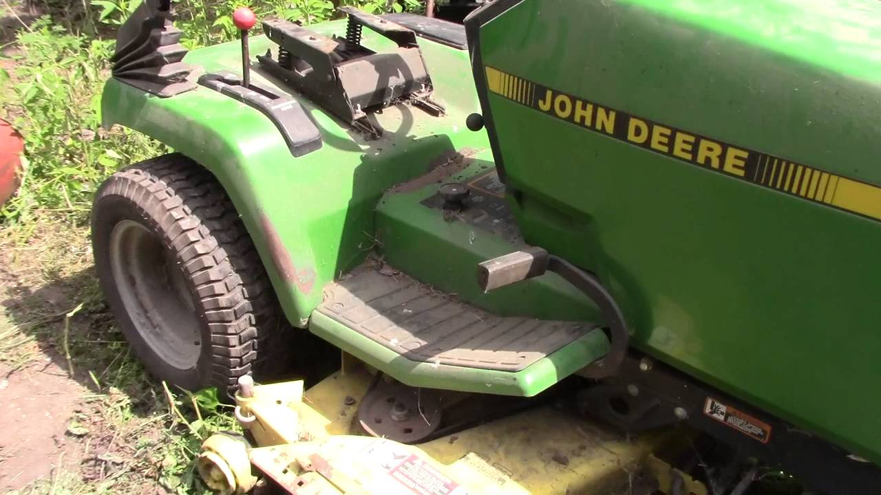 John Deere 265 Parts Or Fix It Youtube