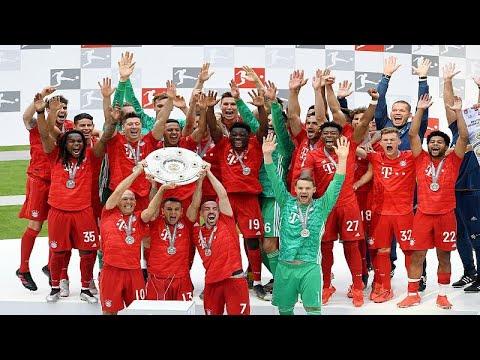 بايرن ميونيخ يحرز لقب الدوري الألماني للمرة السابعة على التوالي…  - 20:53-2019 / 5 / 18