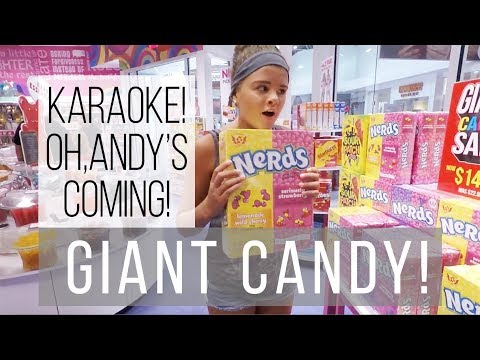 IT'S SUGAR | BACK TO SCHOOL SHOPPING | KARAOKE IN THE CAR | KIDS PLAY ANDY'S COMING CHALLENGE