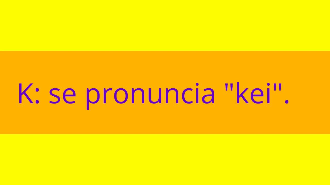 Abecedario en ingles con pronunciacion youtube for Pronunciacion en ingles