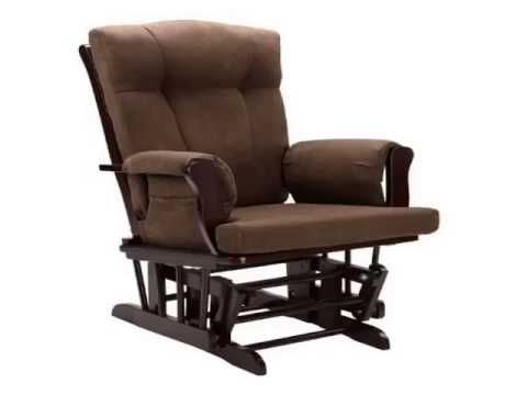 Get Dorel Asia Glider and Ottoman, Espresso Product images
