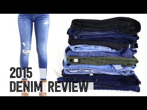 2015 Denim Jeans Review | Try on Fashion Haul | Miss Louie