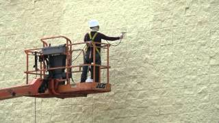 Commercial Painting - Jackson New Jersey - Split Faced Block - Egert Painting