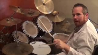 """How to Play """"Iron Man"""" on Drums - Black Sabbath Cover"""