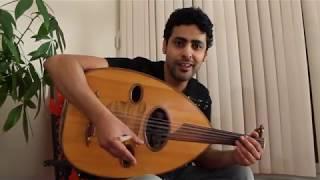 عزف عود هادي و جميييييييييل اغنية مابي اسمع رجاوي راشد الماجد وطريقة عزفها بوضوح