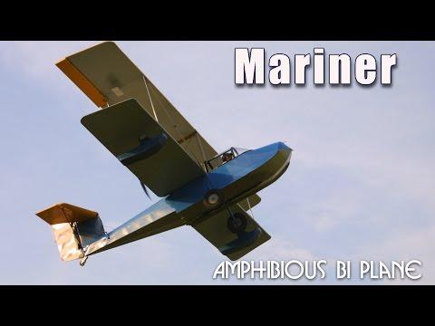Mariner amphibious bi-plane experimental aircraft kit.