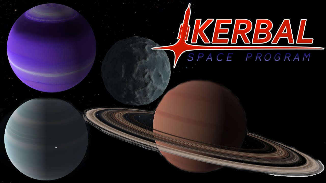 Outer Planets Mod, Kerbal Space Program - YouTube