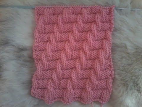 Tuto point de tricot diagonales fantaisies vers la droite tricot facile youtube - Point tricot ajoure facile ...