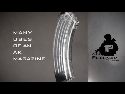 The many uses of an AK-47 magazine video