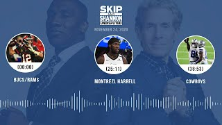 Bucs/Rams, Montrezl Harrell, Cowboys (11.24.20) | UNDISPUTED Audio Podcast