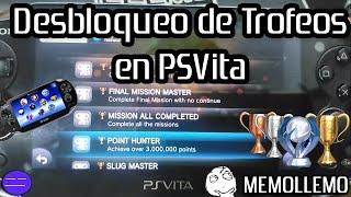 Desbloquear Trofeos en PSVita | Cualquier trofeo |