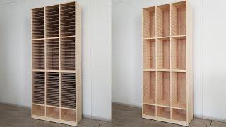 A4 서류함 만들기 DIY wood paper orga…