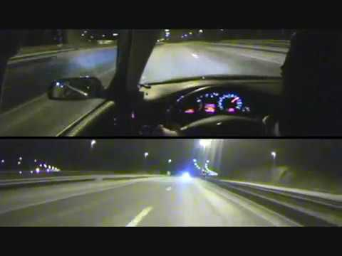 Police vs Audi RS6 Best chase ever HIGHWAY !