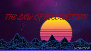 KYSLINGO~The Law Of Recognition - Lyrics