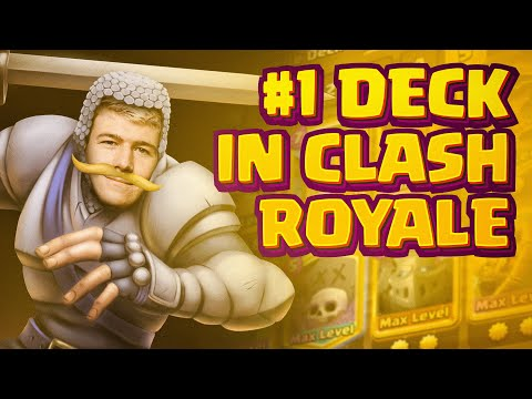 BEST DECK RIGHT NOW! GRAVEYARD CAN'T GET COUNTERED - Clash Royale
